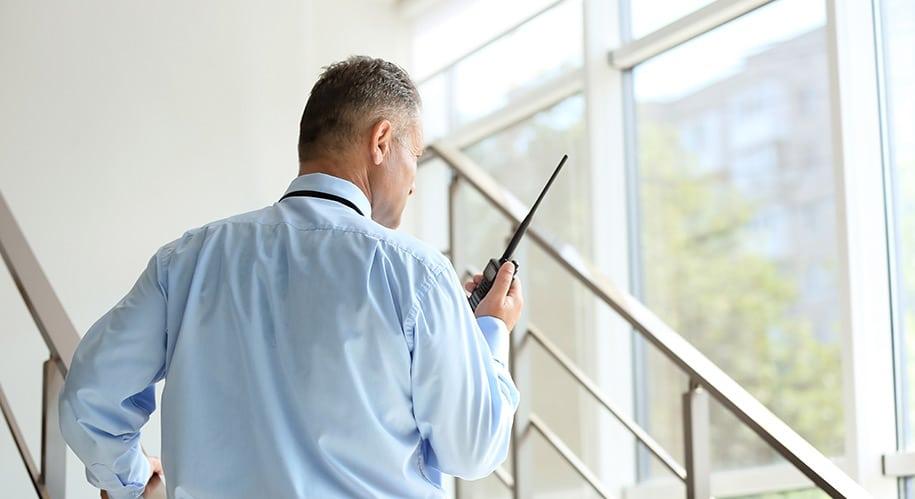 security guard vs CCTV